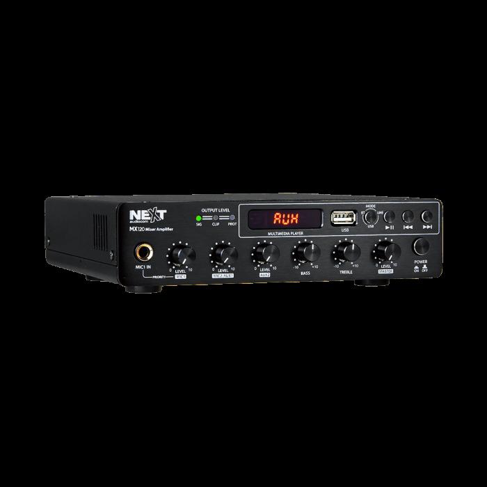 MX120 Mixer și Amplificator cu Bluetooth 5.0 și telecomandă 0