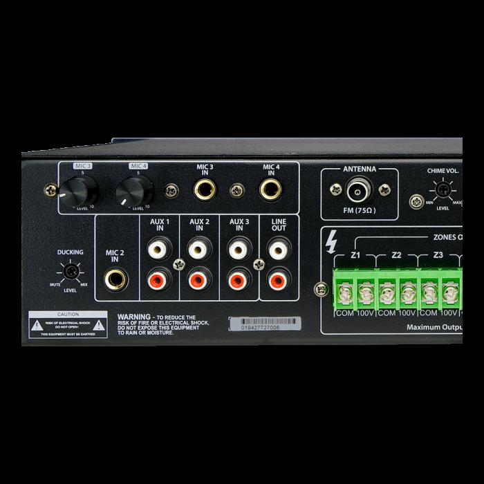 MX350 Mixer și Amplificator de linie cu 6 zone și telecomandă 4