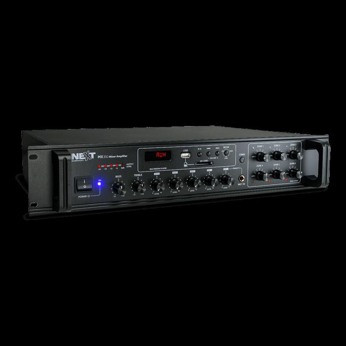 MX350 Mixer și Amplificator de linie cu 6 zone și telecomandă 0