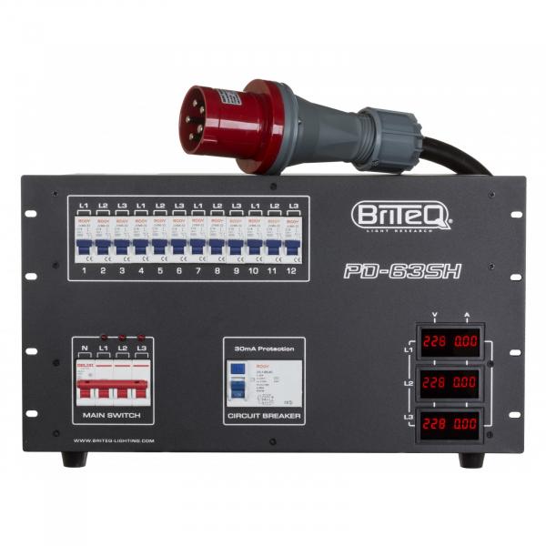 Distributie de curent Briteq PD-63SH/FRA-BEL [1]