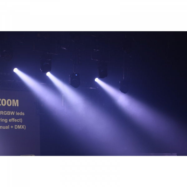 Par LED proiector Briteq PRO BEAMER ZOOM - RENTAL [12]