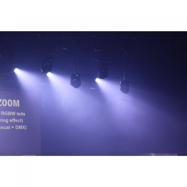 Par LED proiector Briteq PRO BEAMER ZOOM - RENTAL [11]