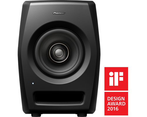 PIONEER DJ RM-05 Monitor de studio profesional de 5 inchi, cu drivere coaxiale HD 0