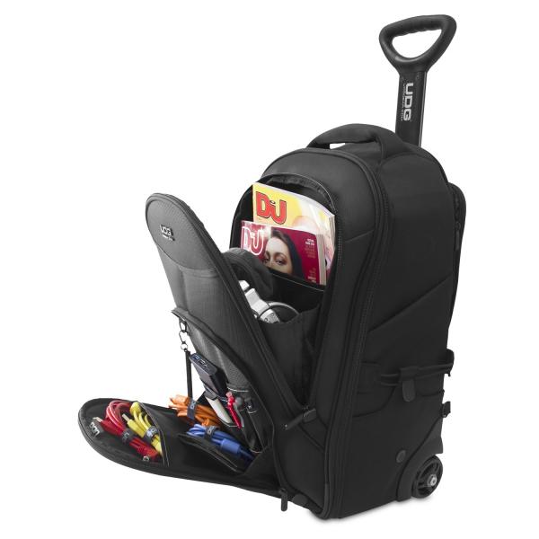 UDG Creator Wheeled Laptop Backpack 21 Version 3 Black Edition 2