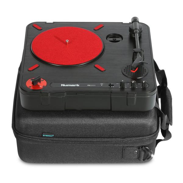 UDG Creator Pioneer XDJ-700  Numark PT01 Scratch Turntable USB Hardcase Black 9
