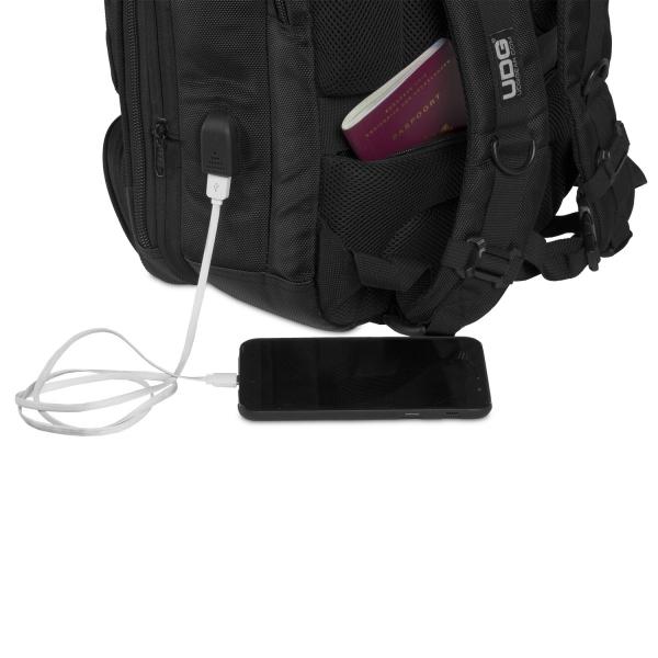 UDG Ultimate Backpack Slim BlackOrange Inside 9