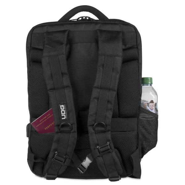 UDG Ultimate Backpack Slim BlackOrange Inside 3