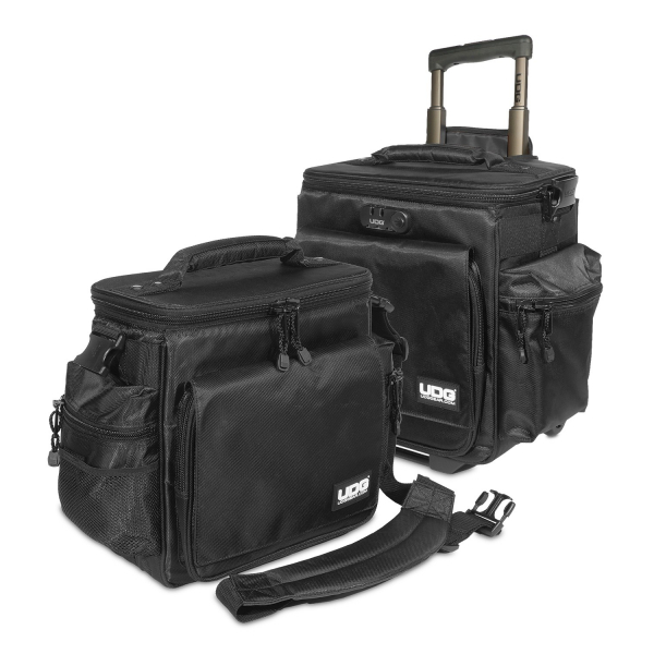 UDG Ultimate SlingBag Trolley Set DeLuxe BlackOrange Inside MK2 5