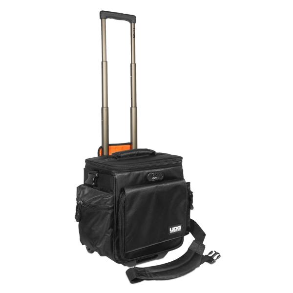 UDG Ultimate SlingBag Trolley DeLuxe Black, Orange Inside MK2 [2]
