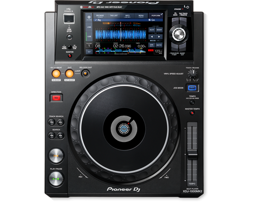 Pioneer Digital Compact Player XDJ 1000-MK2 0