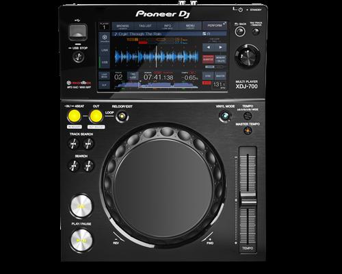 PIONEER Digital Compact Player XDJ-700 0