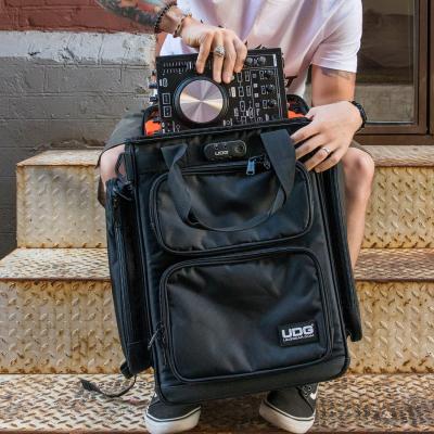 UDG Ultimate ProducerBag Large Black/Orange Inside5