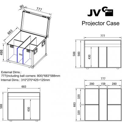 Case Briteq PROJECTOR CASE [4]