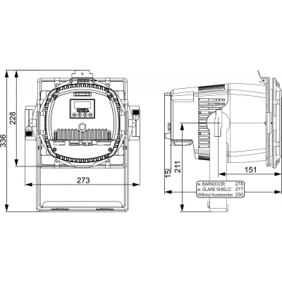 Proiector LED Briteq BT-COLORAY MULTI [17]