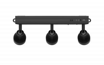 Chauvet EZbar Bara cu 3 Pin Spot LED de 5W tip WW cu acumulator si telecomanda IRC inclusa0