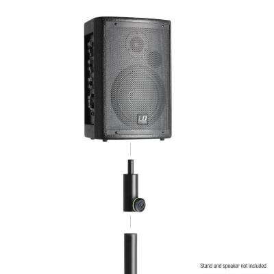 Flansa adaptor reducer pentru stative de boxe  Gravity SF 3616 M2