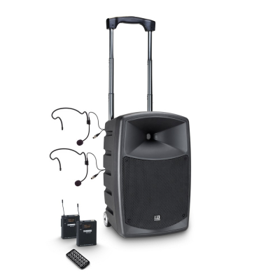 Boxa Activa Portabila cu baterie si Headset LD Systems ROADBUDDY 10 BPH 2 [0]