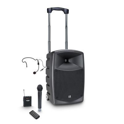 Boxa Activa Portabila cu baterie si Microfon LD Systems ROADBUDDY 10 HBH 2 B50