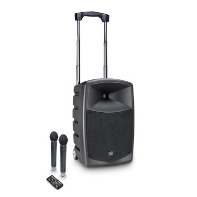 Boxa Activa Portabila cu baterie si 2 Microfone LD Systems ROADBUDDY 10 HHD 20