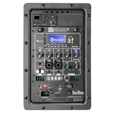 Boxa Activa Portabila Bluetooth cu Headset si In Ear LD Systems  ROADBUDDY 10 HS B64