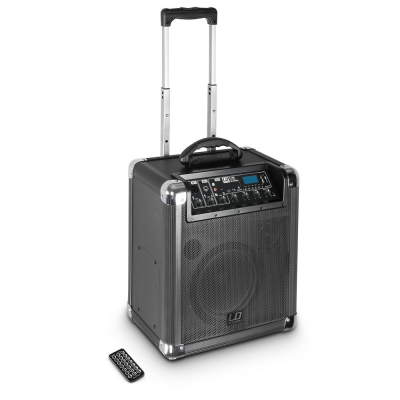 Boxa Activa Portabila Bluetooth cu baterii si mixer LD Systems ROADJACK 10 [0]