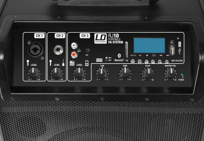 Boxa Activa Portabila Bluetooth cu baterii si mixer LD Systems ROADJACK 10 [2]