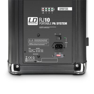 Boxa Activa Portabila Bluetooth cu baterii si mixer LD Systems ROADJACK 10 [3]
