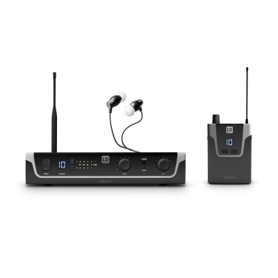 Sistem in Ear Monitoring cu casti LD Systems U306 IEM HP0