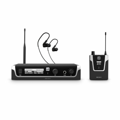 Sistem in Ear Monitoring cu casti LD Systems U508 IEM HP0