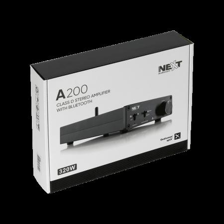 A200 Amplificator stereo 2x100W clasa D cu Bluetooth1