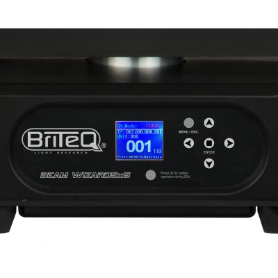 Moving Head Wash LED Briteq BEAM WIZARD5x54