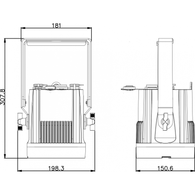 Proiector Exterior Led Briteq BT-NONAPIXEL WHITE5
