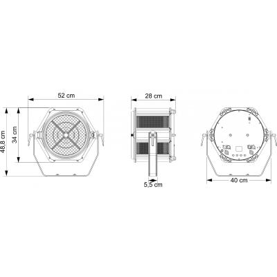 Proiector Briteq BT-RETRO6