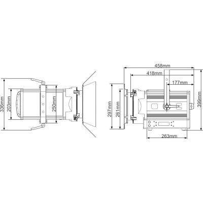 Proiector LED Briteq BT-THEATRE 250EZ8
