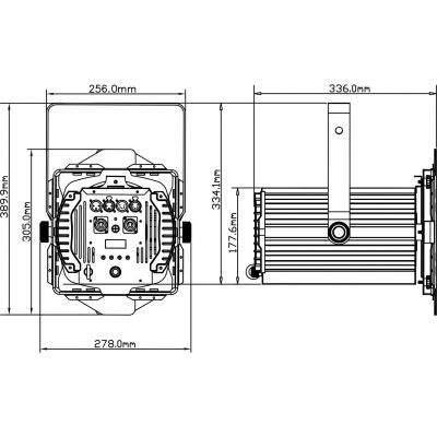 Proiector LED Briteq BT-THEATRE 100EC Mk25