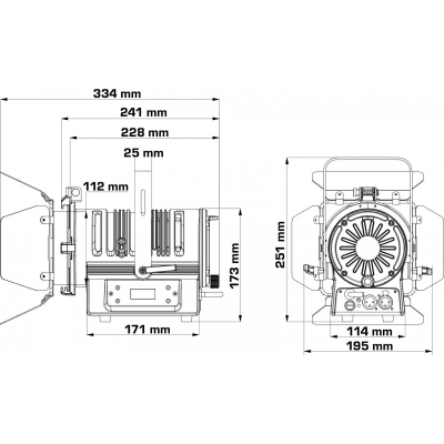 Proiector LED Briteq BT-THEATRE 50WW (BLACK) [6]