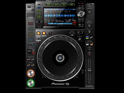 PIONEER CDJ 2000 Nexus 2 Multimedia Player0