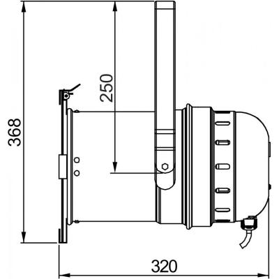 PAR LED Briteq COB PAR56-100WW BLACK3