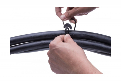 Rubber cable tie Gafer  T-fix type [7]