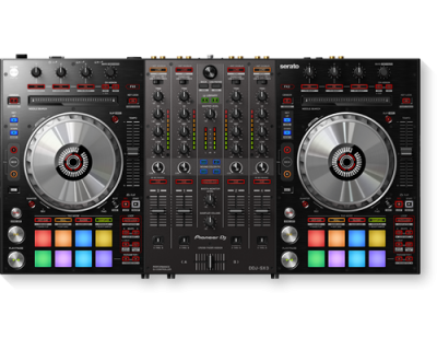 PIONEER DDJ-SX3 Consola DJ pentru SERATO Dj - 4 canale0