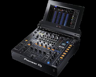 PIONEER DJ DJM-TOUR1 Mixer cu 4 canale pentru sistem TOUR, cu ecran tactil pliabil1