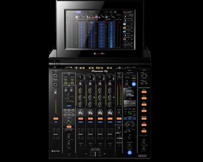 PIONEER DJ DJM-TOUR1 Mixer cu 4 canale pentru sistem TOUR, cu ecran tactil pliabil0