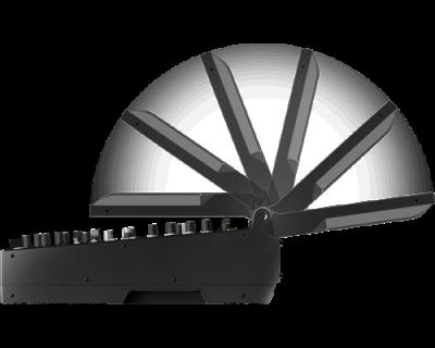 PIONEER DJ DJM-TOUR1 Mixer cu 4 canale pentru sistem TOUR, cu ecran tactil pliabil3