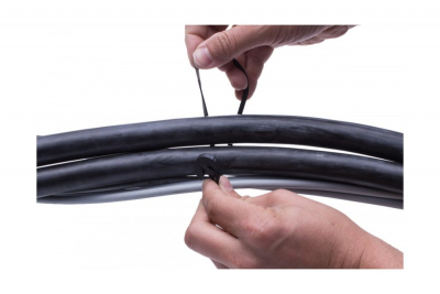 Rubber cable tie Gafer  T-fix type [10]