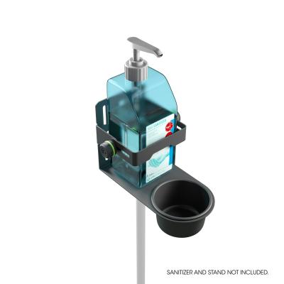 Stativ Gravity Universal Disinfectant Holder Black1