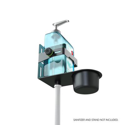 Stativ Gravity Universal Disinfectant Holder Black2