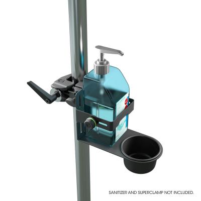 Stativ Gravity Universal Disinfectant Holder Black7