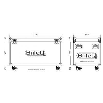 Case Briteq MATRIX5x5-CASE8