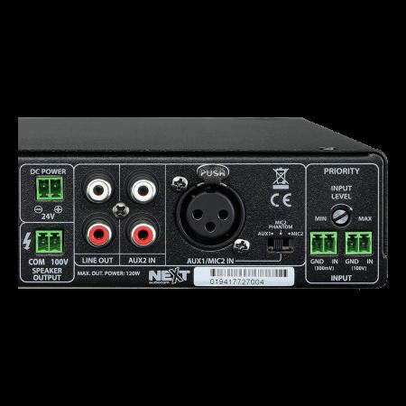 MX120 Mixer și Amplificator cu Bluetooth 5.0 și telecomandă2