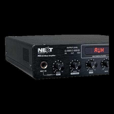 MX120 Mixer și Amplificator cu Bluetooth 5.0 și telecomandă3
